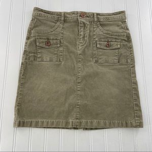 Old Navy Women's size 14 Skirt Straight Corduroy S